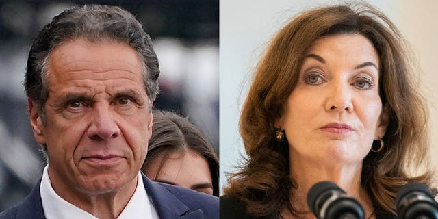 Kathy Hochul became the first female governor of New York at the stroke of midnight Tuesday, taking control of a state government desperate to get back to business after months of distractions over sexual harassment allegations against Andrew Cuomo.