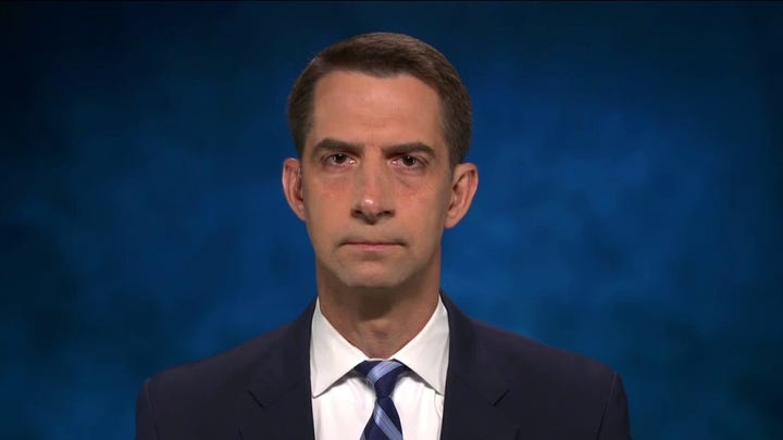 Sen. Tom Cotton slams Biden's 'ill advised' and 'chaotic' withdrawal from Afghanistan