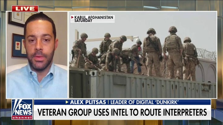 Thousands of veterans use intelligence, satellite images to direct Afghan interpreters around Taliban checkpoints