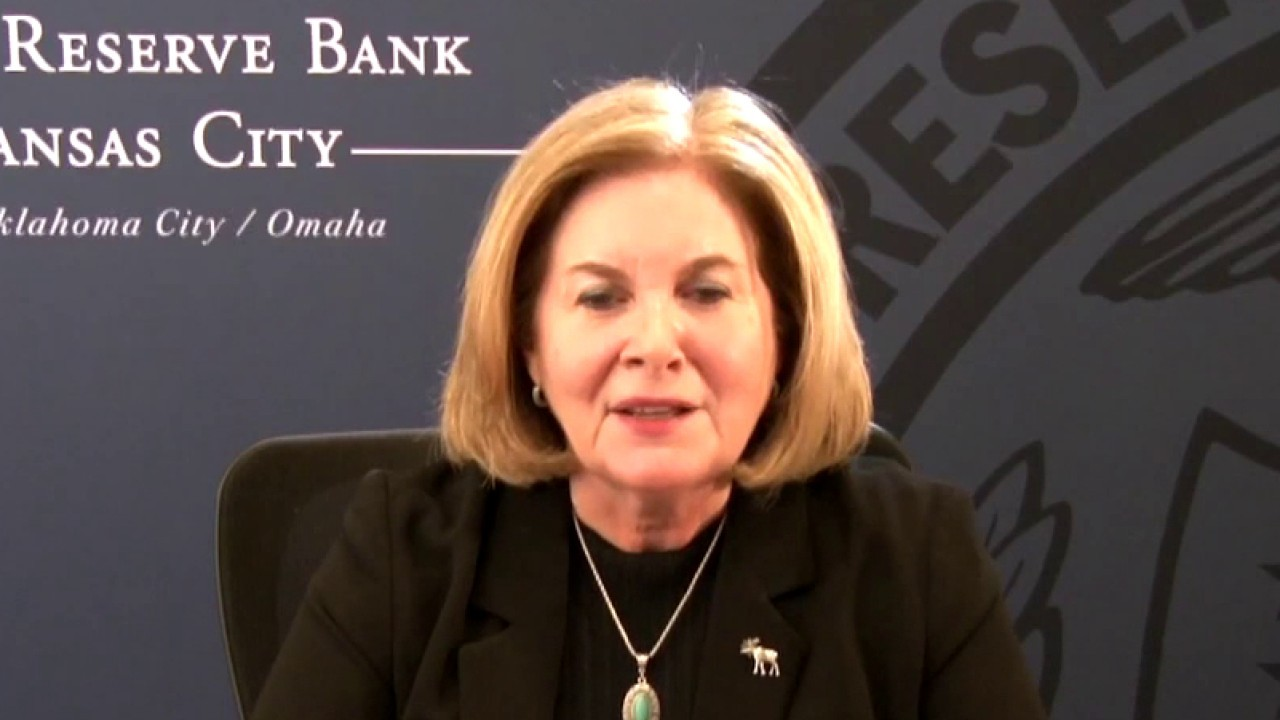 Kansas City Federal Reserve Bank President Esther George on the U.S. economy and tapering measures.