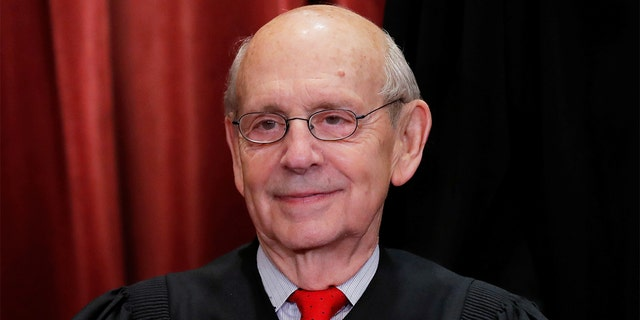 U.S. Supreme Court Associate Justice Stephen Breyer is seen during a group portrait session for the new full court at the Supreme Court in Washington, U.S., Nov. 30, 2018. Breyer spoke to The New York Times Thursday about his potential retirement plans. (REUTERS/Jim Young)