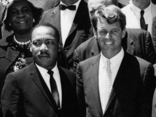 Martin Luther King, Jr. and Robert Kennedy (Wikimedia Commons)