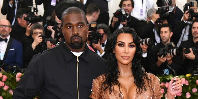 Kanye West is reportedly trying to convince people that Kim Kardashian is reconciling with him in order to drum up support for his latest album.