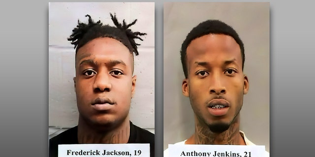 Anthony Jenkins, 21, and Frederick Jackson, 19, face capital murder charges for the death of an off-duty New Orleans police detective.
