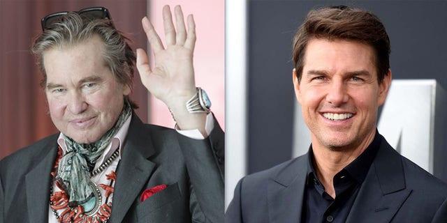Tom Cruise was 'adamant' that Val Kilmer be cast in 'Top Gun: Maverick.'