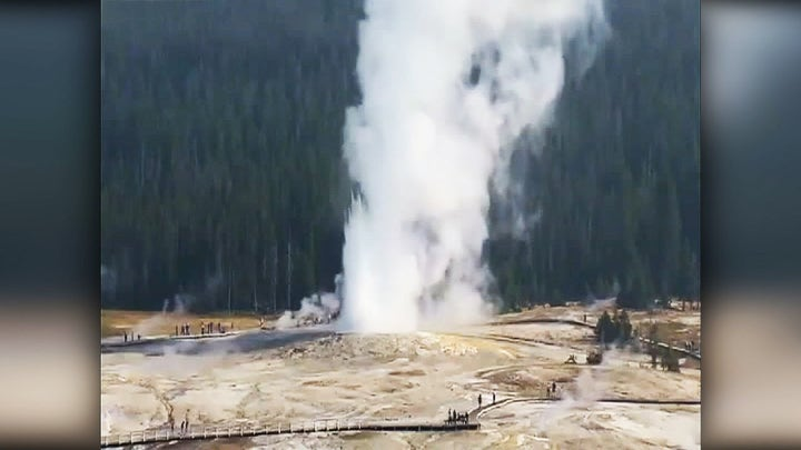 Yellowstone National Park geyser erupts after 6 years of dormancy