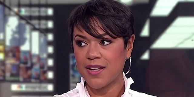 MSNBC host Tiffany Cross.