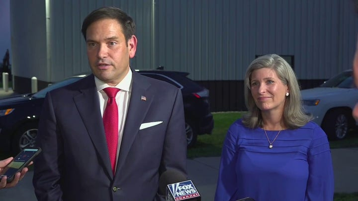 Rubio talks 2024 prospects during Iowa visit