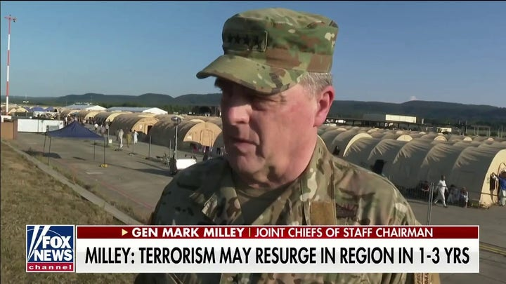 Gen. Milley: We may see a resurgence of terrorism in Afghanistan within 1 to 3 years