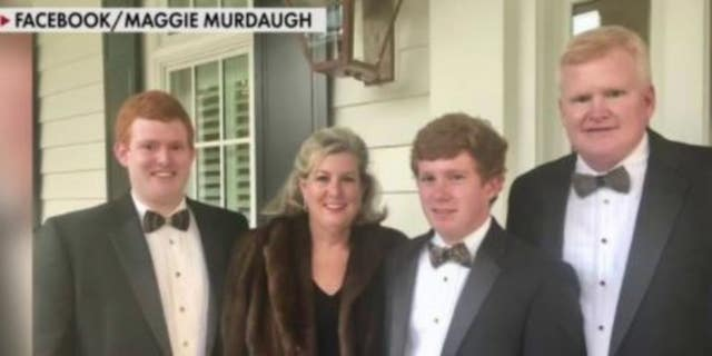 Alex Murdaugh, 53, (right) is quitting his law firm after being shot over the weekend, months after his wife Margaret, 52, and their son, Paul, 22, were shot to death outside their South Carolina home.