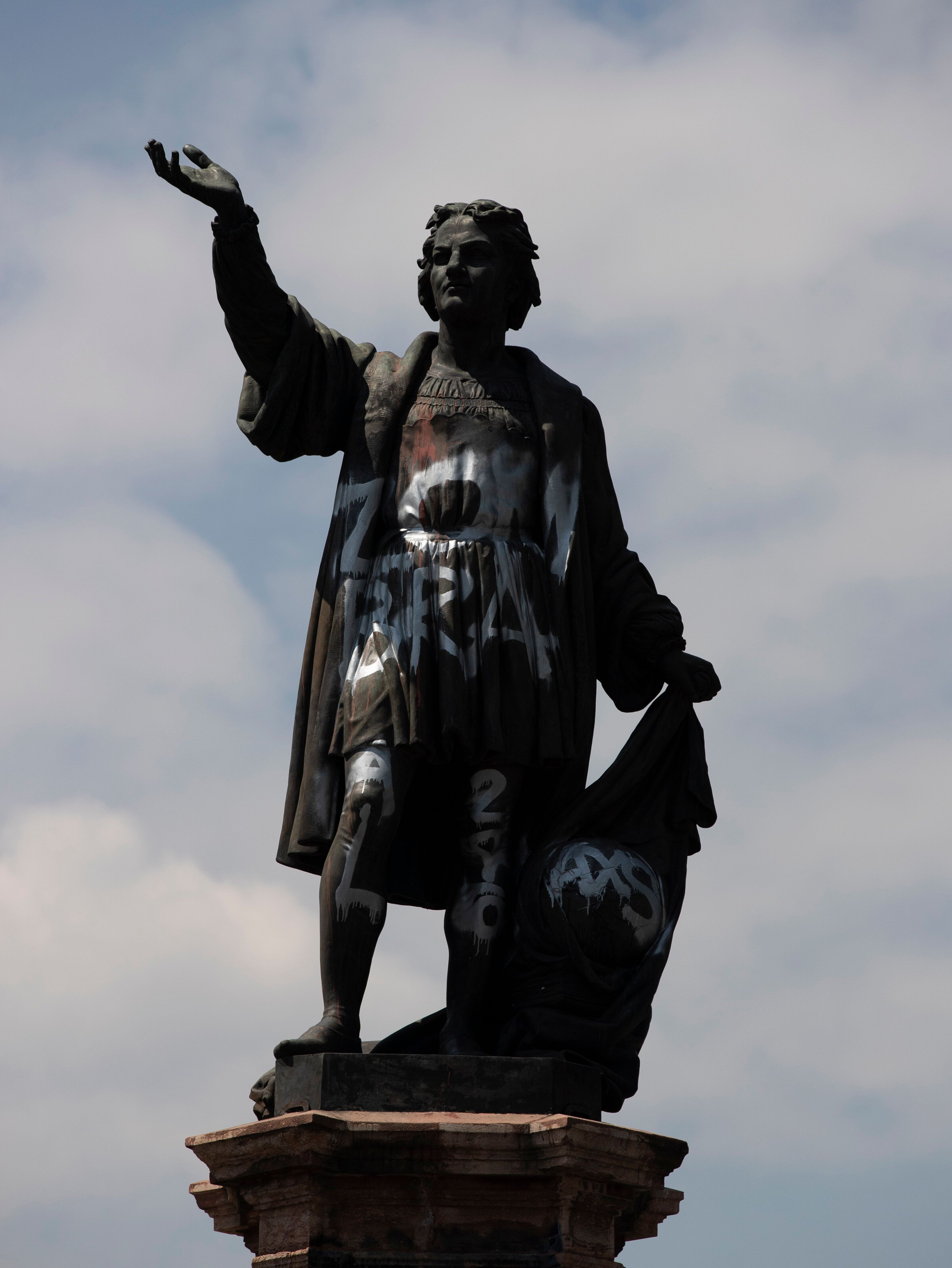 The Columbus statue isn't being discarded, but will be moved to a less prominent location in a small park in the Polanc