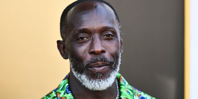 """Michael K. Williams attends the Los Angeles premiere of MGM's """"Respect"""" at Regency Village Theatre on August 08, 2021 in Los Angeles, California. (Photo by Rodin Eckenroth/FilmMagic)"""