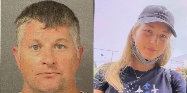 Eric William Westerguard, 45, of Jupiter, Florida, was arrested just before 1:30 a.m. Monday and charged with first degree murder-premeditated in connection to the death of 23-year old Perrin Damron.
