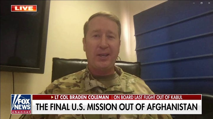 Afghanistan was 'apocalyptic' during final US evacuation
