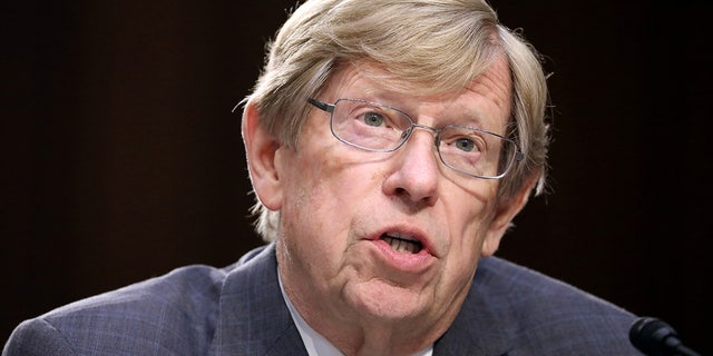 Former U.S. Solicitor General Theodore 'Ted' Olson testifies on the fourth day of Senate Judiciary Committee confirmation hearings for U.S. Supreme Court nominee Judge Brett Kavanaugh on Capitol Hill in Washington, U.S., September 7, 2018. Olson will be attending the 9/11 Pentagon memorial service to mark the 20 years since his wife, Barbara, was killed in the terrorist attack.