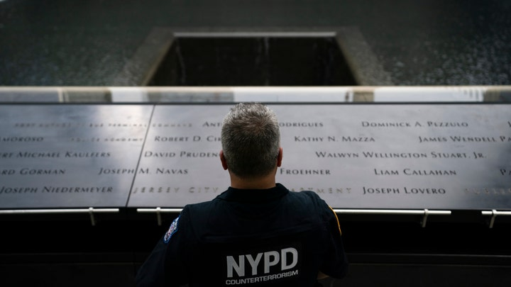 Reading of the names of the people who perished in the 9/11 attacks