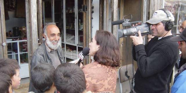 Khorshied Nusratty - FOX News Kabul, 2003