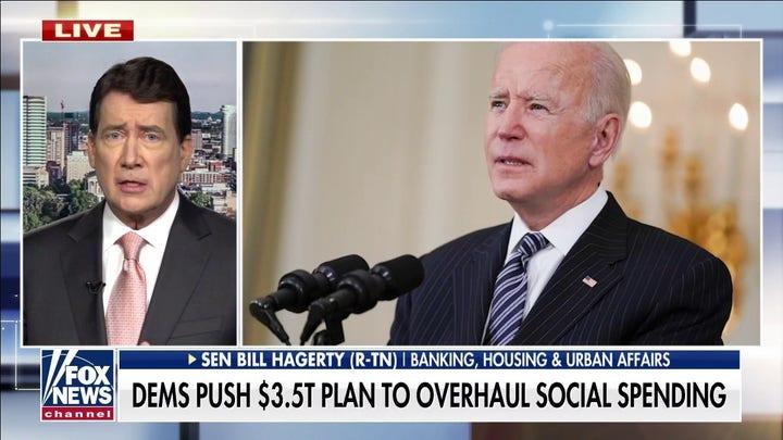 GOP senator: Democrats' human infrastructure bill is pushing America 'towards socialism'