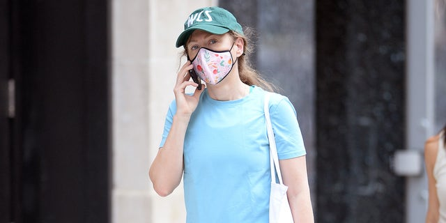 Chelsea Clinton spotted walking in New York City after vacationing in the Hamptons, Long Island.