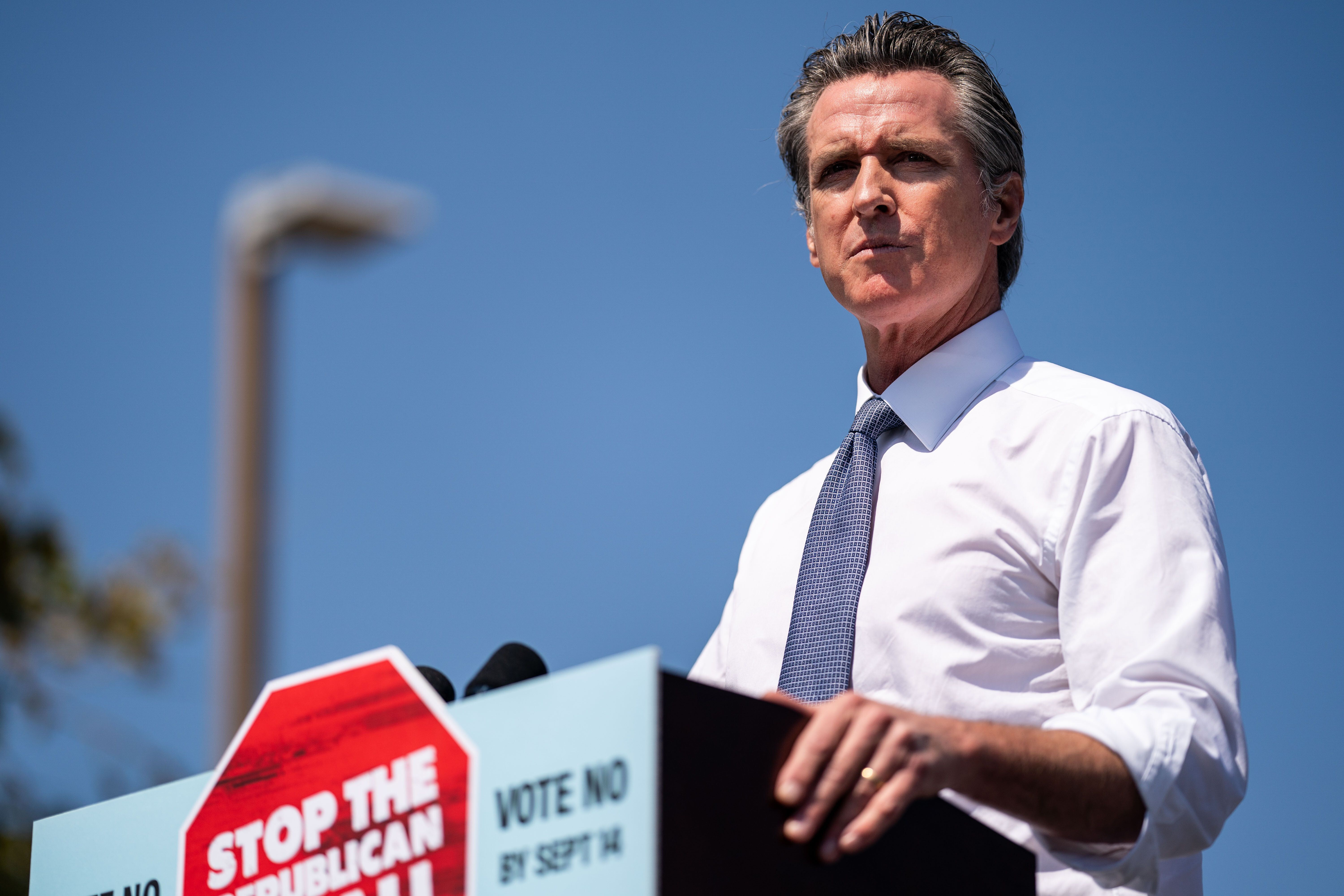 California Gov. Gavin Newsom (D) is expected to survive the recall effort on Tuesday. He benefited from a Republican opponent