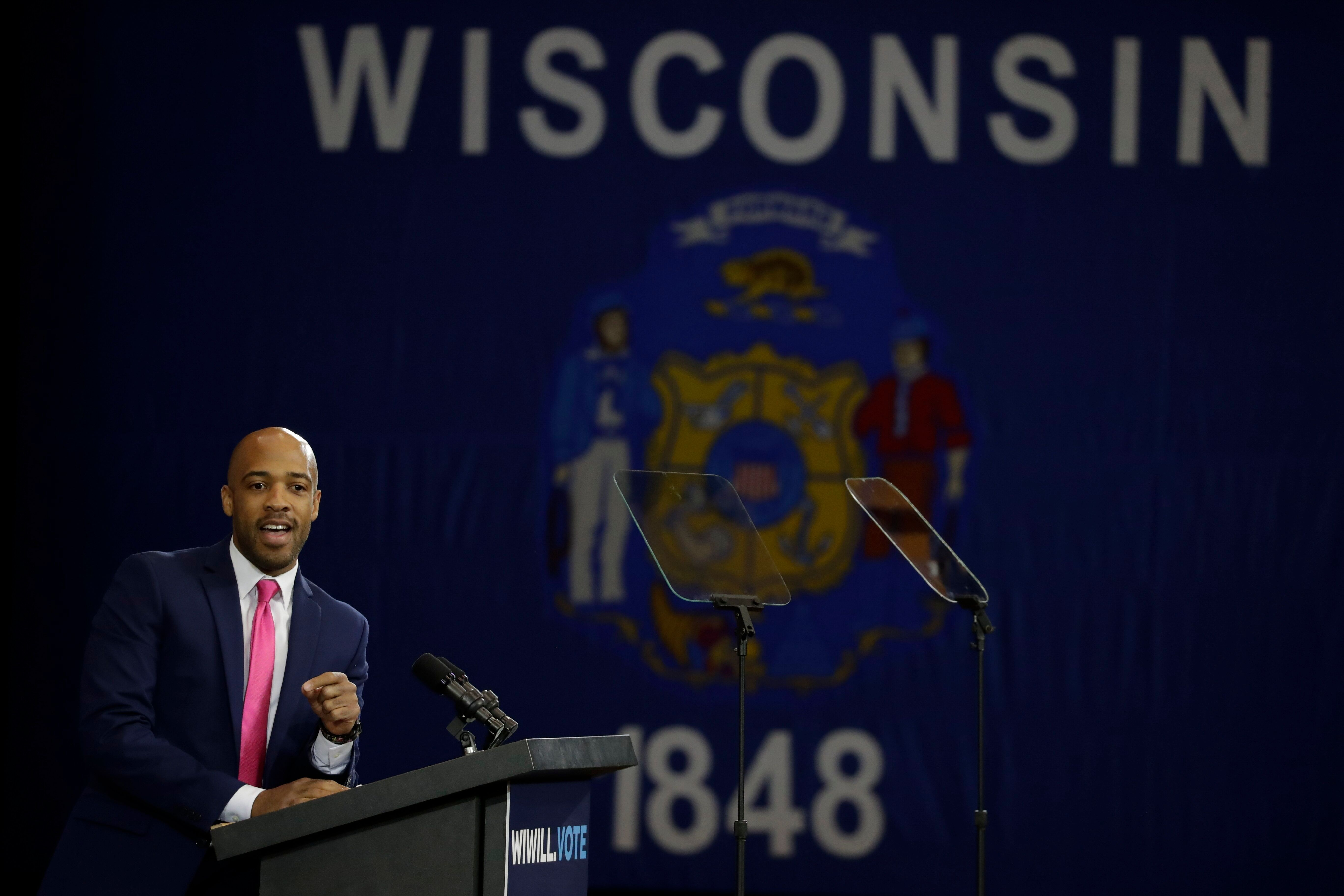 Wisconsin Lt. Gov. Mandela Barnes was under consideration for a post in the Biden administration. Now his sights are set on a