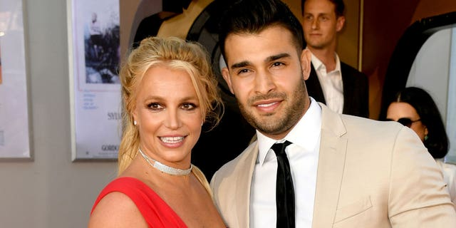 Britney Spears and her boyfriend Sam Asghari are reportedly in no rush to marry. (Getty Images)