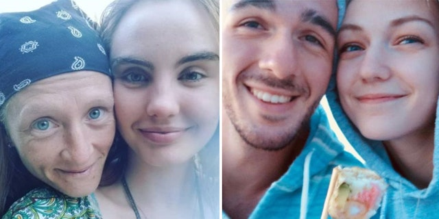 The Grand County Sheriff's Office said they are investigating any possible connection between the double homicide of Crystal Turner and Kylen Schulte (right) in mid-August, and the disappearance of Gabby Petito in late August.