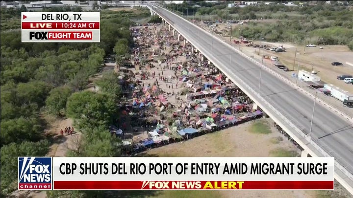 Border Patrol shuts down Del Rio Port of entry