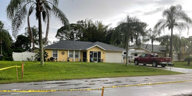 Charlene Guthrie, who lives across the street from Brian Laundrie's Florida home on Tuesday reacted to news of Gabby Petito's preliminary autopsy report. (Credit: Fox News, Stephanie Pagnones)