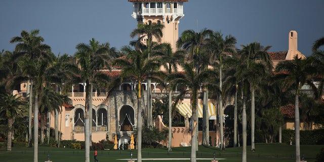 Former U.S. President Donald Trump's Mar-a-Lago resort is seen in Palm Beach, Florida, Feb. 8, 2021. REUTERS/Marco Bello