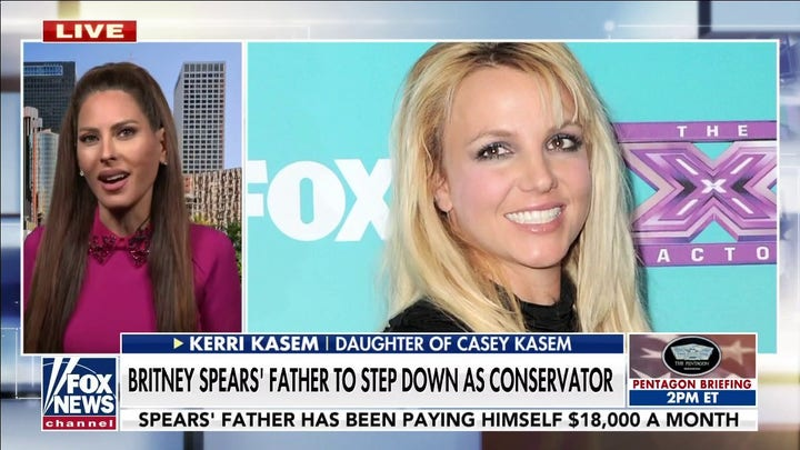 Britney Spears' father to step down as conservator, but no timeline given