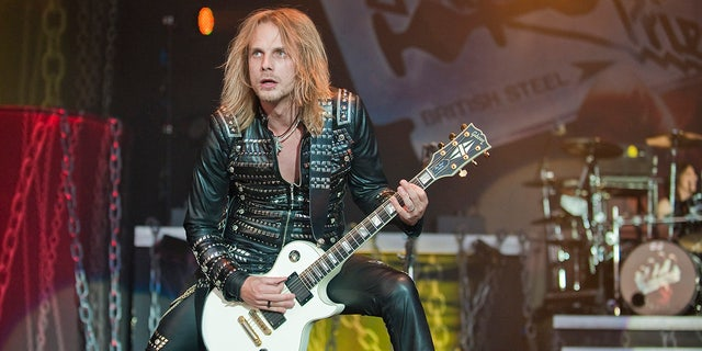 Richie Faulkner has played guitar for the metal band since 2011.