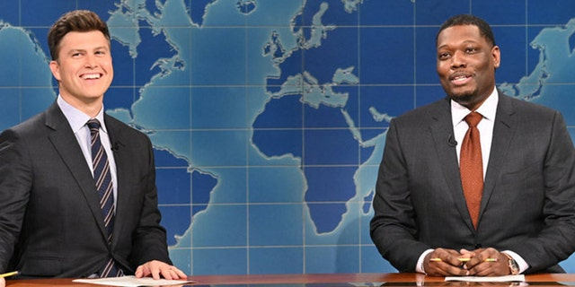 'Saturday Night Live' took on Facebook in its 'Weekend Update' segment.
