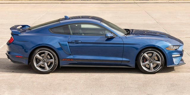 The 2022 Mustang GT California Special will come with the 450 hp V8.